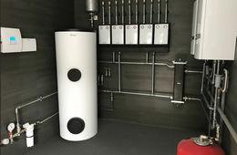 Монтаж системы отопления в частном доме Голицыно