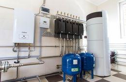 Монтаж системы отопления в коттедже Голицыно