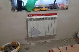 Монтаж радиатора отопления в частном доме Голицыно