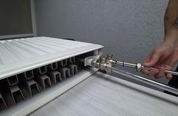 Монтаж радиаторов отопления с нижней подводкой Голицыно