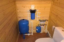 Монтаж водоснабжения в частном доме Голицыно