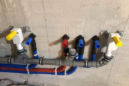 Монтаж канализации в квартире в Голицыно