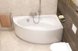 Монтаж угловой ванны Голицыно
