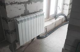 Замена радиаторов отопления в квартире Голицыно